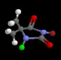 שרטוט מולקולת הלוברום