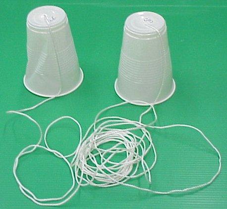 טלפון חוטי-כוסות