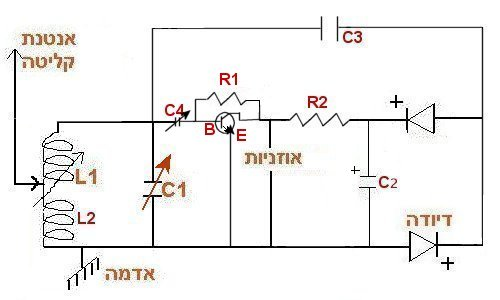 המעגל החשמלי (המסובך יותר, ומיועד למתקדמים)