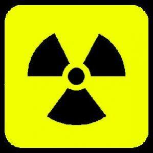 לוגו של קרינה רדיואקטיבית