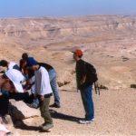 תלמידים בעבודה בהר אבנון