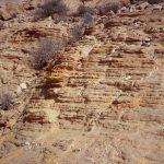 אבן חול נובית במכתש חתירה