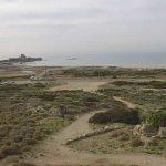 חירבת קרתה - תצפית מערבה לחוף עתלית