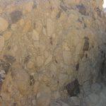 בולדר של קונגלומרט רחם בנחל שלמה