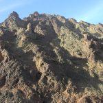 נוף של סלעים קריסטליניים בהר שלמה