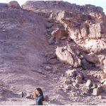 אי-התאמה ארוזיבית בין גרניט לאבן-חול בהר תמנע