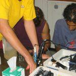 בדיקת pH, מוליכות חשמלית וריכוז החמצן המומס
