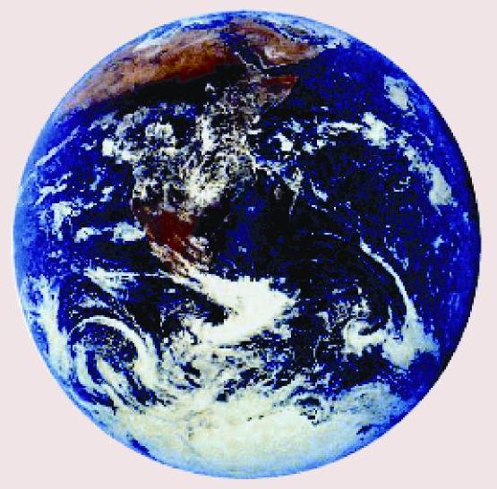כדור הארץ מהחלל