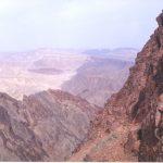 העתק שלמה - מגע בין סלעי משקע לסלעים קריסטליניים
