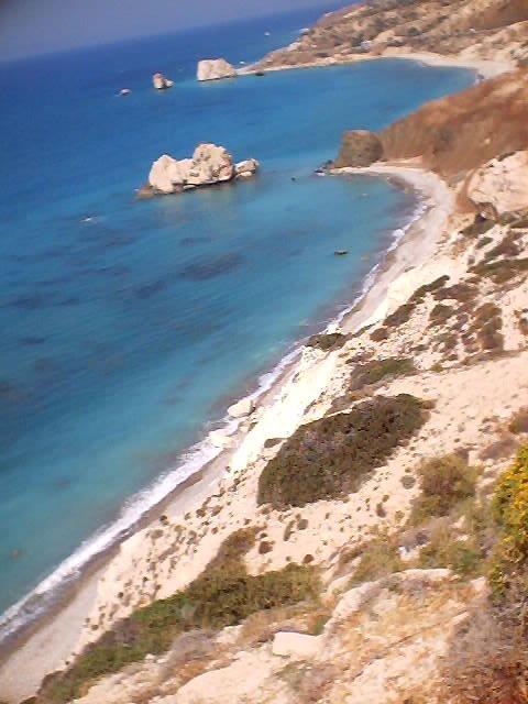 מבט נופי על חוף ים