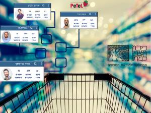 """""""עגלת קניות"""" של פרויקט PETEL"""